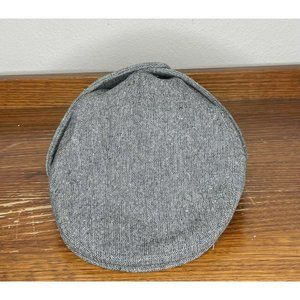 KANGOL Plaid Wool Tweed Bugatti Newsboy Hat Large